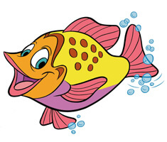 Cartoon Sunfish