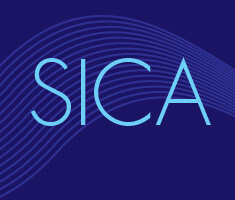 "Text that reads ""SICA"" (Summer Institute for Creative Adults)"